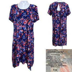 Cuddl Dids P2X back cutout nightgown loungewear